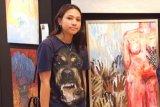 Annabel angkat tema pelecehan  di pameran lukisan Tomato Art School