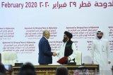 Menlu RI menghadiri penandatanganan kesepakatan perdamaian Afghanistan