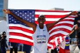Umur bukan masalah ,pelari 43 tahun ini raih tiket Olimpiade untuk kelima kalinya
