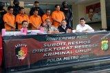 Polda Metro Jaya ringkus lima pelaku pencurian suku cadang menara BTS