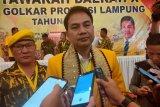 Aziz Syamsudin ingin peserta musda berikan masukan kepada DPP Golkar