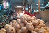 Harga bawang putih di Pasar Raya Padang turun Rp10.000 jadi Rp40.000 per kilogram