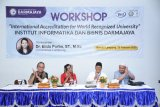 IIB Darmajaya gelar workshop tentang akreditasi