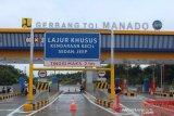 26 kilometer ruas tol Manado- Bitung beroperasi April 2020