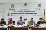 Para Komisioner KPU Pandeglang melakukan seleksi wawancara calon anggota PPK