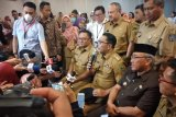 Ridwan Kamil: Penularan COVID-19 bukan di Depok