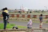 Virus corona, Bandara Husein hentikan sementara penerbangan internasional