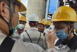 Ribuan karyawan PT.IMIP Morowali wajib thermal scanner tiap hari