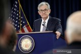 Fed tahan suku bunga dekati nol, diproyeksi sama hingga 2022