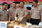 Polres Lampung Selatan gagalkan penyelundupan sabu-sabu dan ganja