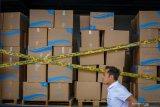 470 kotak masker hilang dicuri