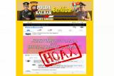 Siber Bareskrim tindak kasus penyebaran info hoaks corona