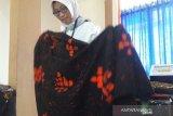 Batik ciprat karya disabilitas intelektual Temanggung jadi seragam Kemensos