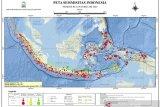 Sepanjang Februari 779 kali gempa guncang Indonesia
