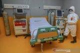 Penampakan ruang isolasi RS rujukan COVID-19