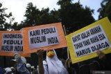 Menag: Kedepankan diplomasi untuk kepedulian Muslim di India