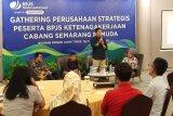 BPJAMSOSTEK Semarang Pemuda apresiasi perusahaan tertib administrasi