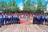Polres Asmat sosialisasi penggunaan medsos siswa SMPN Mbait