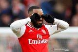 Lacazette akui Arsenal menang  lantaran beruntung
