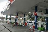 Rusak akibat puting beliung di Ambarawa, SPBU ditutup sementara