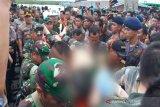 Dandim Kapuas Letkol Bambang Kristianto Bawono jadi korban kecelakaan speed boat