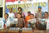 Polisi tangkap begal bermodal pistol korek api di Seruyan