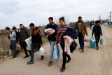 Pesawat tak dikenal serang kota perbatasan Suriah dengan Irak