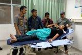 Enam aktivis PMII Jember dibawa ke RS akibat bentrokan saat demo
