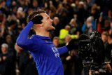 Vardy akhirnya cetak  gol saat Leicester gasak Villa 4-0