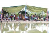 Sambut HUT ke-11 Kabupaten Pringsewu, dinas perikanan adakan lomba memancing ikan