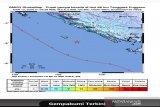 Gempa magnitudo 5,0 guncang Enggano Bengkulu Utara, tidak berpotensi tsunami