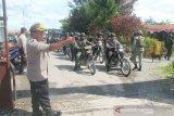 Personel gabungan TNI-Polri gelar patroli keliling kota