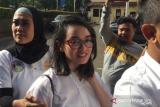 Aktris Ririn Ekawati diperbolehkan pulang setelah diperiksa sebagai saksi