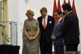 Video raja Belanda  boyong 110 pengusaha ke RI