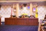 Bupati Pesisir Barat hadiri undangan pertemuan dengan Ombudsman RI