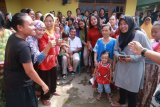 Rycko Menoza disambut ratusan warga Panjang Bandarlampung