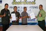 Bank Jateng tandatangani PKS dengan kelurahan se-Kecamatan Sukoharjo