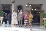 Raja dan Ratu Belanda kunjungi Sultan HB X di Keraton Yogyakarta