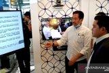 Menteri BUMN Erick Thohir tinjau Terminal 3 Soetta tanpa gunakan masker