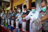 Polisi sita 22,7 Kg sabu jaringan Malaysia yang didistribusikan melalui jalur laut