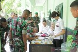 Cegah narkoba, Personel Brigif 21/Komodo ikut tes urine