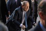 Tertular dari penjara, Harvey Weinstein positif corona