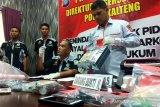 Bandar sabu Palangka Raya dipasok 'Bos Banjar' dengan sistem jaringan terputus