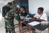 BNNP Sulawesi Tenggara tes urine anggota Denpom XIV/3 Kendari