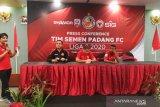 Yosviandri minta Semen Padang FC lupakan masa lalu saat tim gagal bertahan di Liga 1