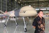 Menristek: Pesawat nirawak Elang Hitam mulai terbang pada Januari 2021