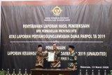 Pemkot Mataram menerima hasil pemeriksaan dana parpol