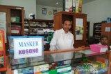Kontribusi dari penjualan  masker di PD Apotek Kudus tidak besar