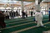 JK dukung Gerakan Semprot Disinfektan 10.000 Masjid