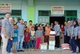 Bank Nagari  Lubukbasung salurkan sembako ke tiga Panti Asuhan
